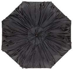 Extravagant luxury designer Jean Paul Gaultier umbrella with a double pleated fabric in the look - Made in Paris Bild 2