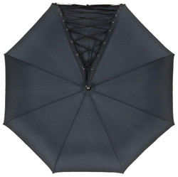 Jean Paul Gaultier designer luxury with corset lacing Umbrella - Made in Paris Bild 2