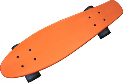 MySkateBrand old school skateboard Wood Cruiser 70s style orange - 25.5 inch x 5875 - Longboard Skateboard – Bild 8