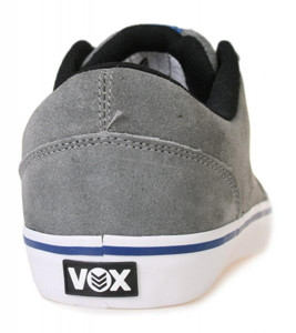 Vox Skateboard Schuhe Downlow Gray/Blue/Black – Bild 3