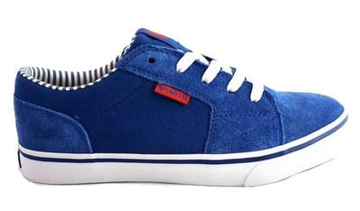 Vox Skateboard Schuhe  Shovelhead Royal Blau/ Weiß