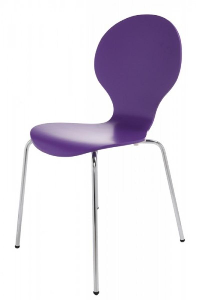 Casa padrino designer stuhl form lila 8578 esszimmer stuhl st hle sonstige st hle - Designerstuhle esszimmer ...