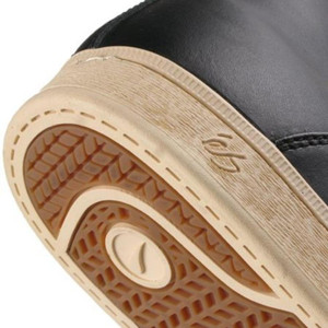 ES Footwear Skateboard Shoes Leland LX Black/Tan – Bild 4