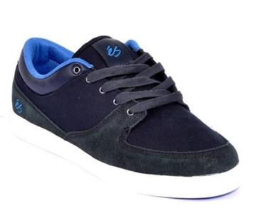 ES Footwear Skateboard Schuhe La Brea Dark Grey / Blue – Bild 2
