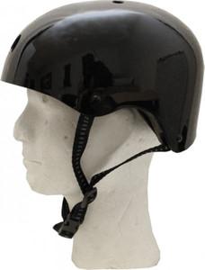 MySkatebrand Skateboard Helm Schwarz - Bmx, Inliner, Longboard Helm - Schutzausrüstung Skateboard Helm – Bild 1