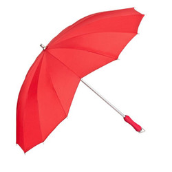 "MySchirm designer umbrella, umbrella theme ""Heart"" in Red Model Paris - Elegant Umbrella"