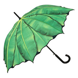 MySchirm designer umbrella in deep green - Elegant Umbrella - Luxury Design - Automatic Umbrella
