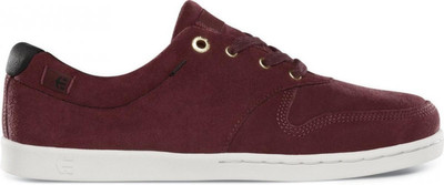 Etnies Skate Shoes Maroon Connery