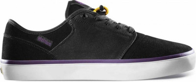 Etnies Skateboard Shoes Bledsoe Low Black/Purple