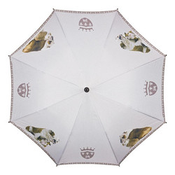 "MySchirm designer umbrella ""English Bulldog"" - Elegant Umbrella - Luxury Design - Automatic Umbrella 002"