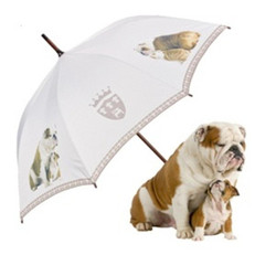 "MySchirm designer umbrella ""English Bulldog"" - Elegant Umbrella - Luxury Design - Automatic Umbrella"