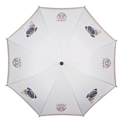 "MySchirm designer umbrella ""Pug"" - Elegant Umbrella - Luxury Design - Automatic Umbrella Bild 2"