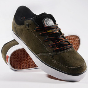 Adio Skateboard Shoes Cascade Green/Black/White