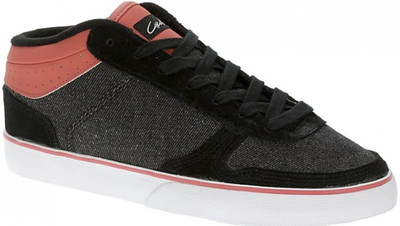 Circa Skateboard Shoes 8 Track WTK Black/Rose - C1rca Shoes