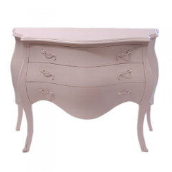 Casa Padrino baroque chest of drawers in pink
