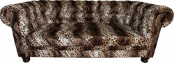Casa Padrino Limited Edition Designer Chesterfield Sofa Leopard - Club Furniture