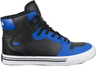 SUPRA Skateboard Schuhe Skytop Kids Schwarz/Blau