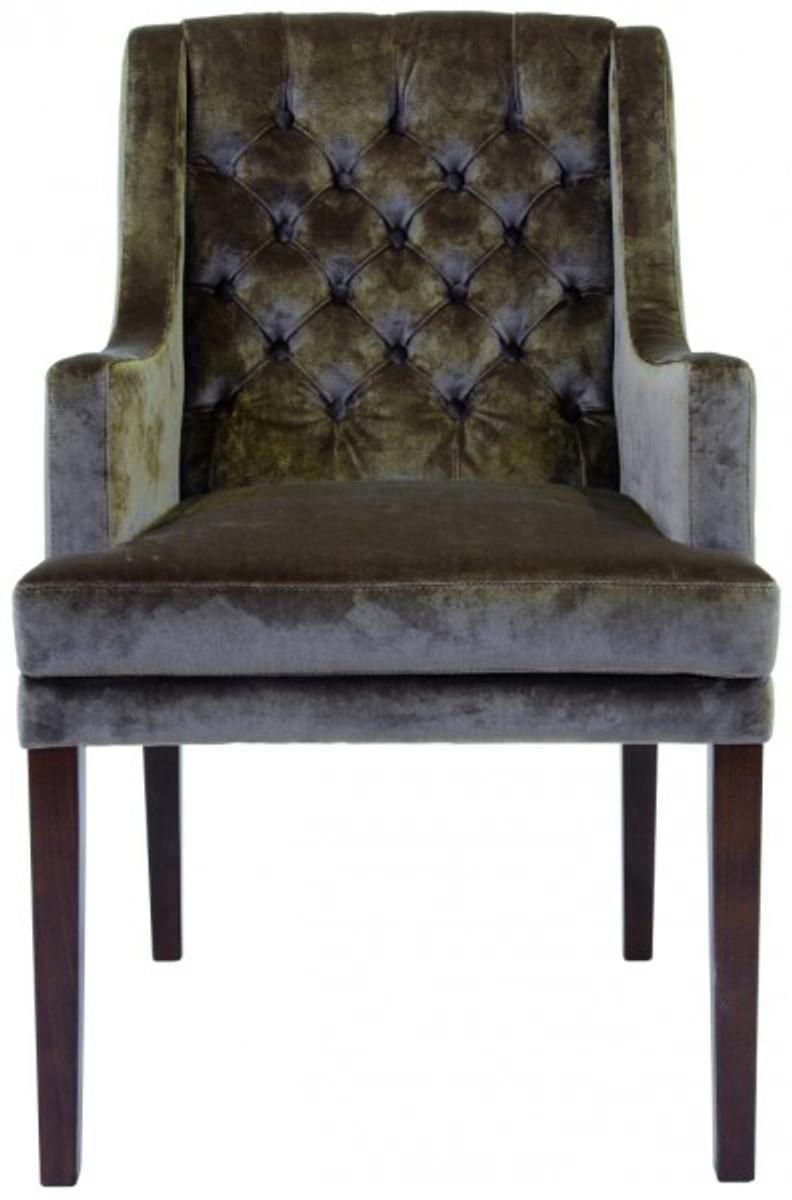 casa padrino designer esszimmer stuhl mit armlehnen modef 309, Esszimmer dekoo