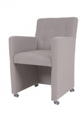 Casa Padrino Designer Dining chair / modef 319 Grey - Hotel Facilities - Rollbar