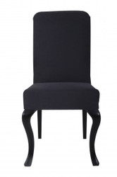 Casa Padrino designer modef 231 Baroque Dinner Chair Black / Black - Hotel Furniture - Beech