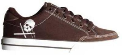 Circa Skate Shoes-ALW50-Chocolate White / Skull
