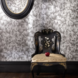 Graham & Brown Baroque Wallpaper hologram Mirror Mirror Mod 50-514 non-woven wallpaper