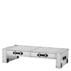 Casa Padrino coffee table vintage metal aluminum Mod2 - Coffee Table - Aluminum coffee table
