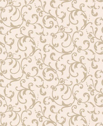 Graham & Brown Baroque Wallpaper Enchantment woven wallpaper nonwoven Mod 50-464 Cream