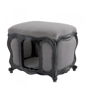 Baroque Cats & Dogs House Luxury Grey / Black – Bild