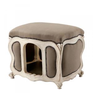 Baroque Cats & Dogs House Luxury Sand / Antique White – Bild