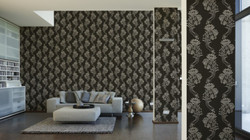 Baroque Wallpaper Bella Vista 93556-4 Nouveau A.S. AS Creation woven wallpaper 935564