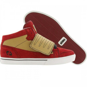 Etnies   Skate Shoes  Tribute Plus Red Gold
