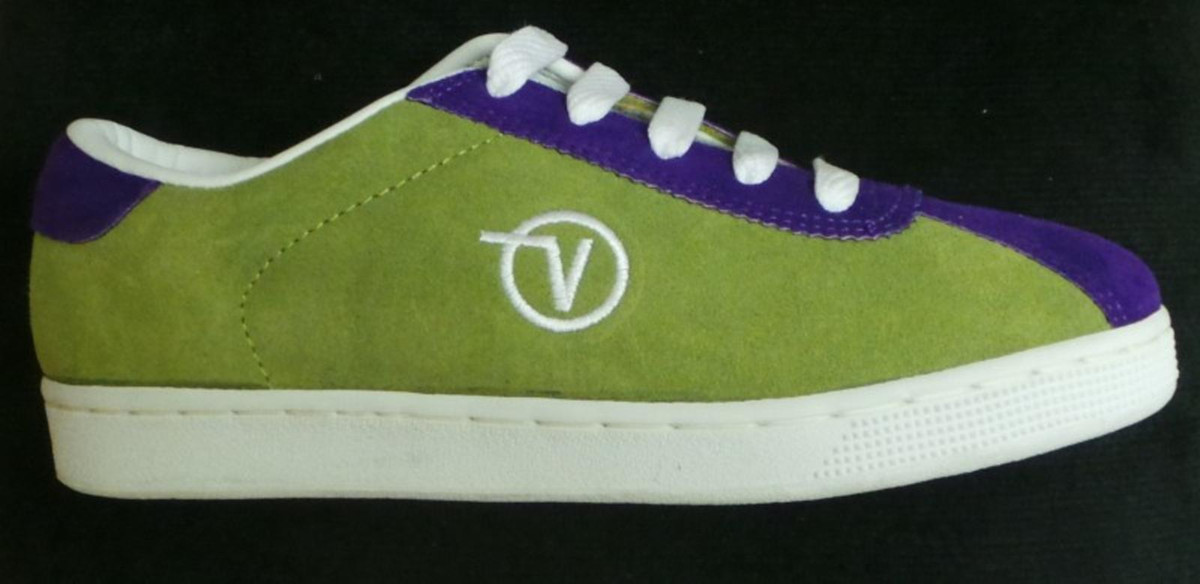 Vans Skateboard Shoes Lucy- Lime/Purple   Ceres Webshop