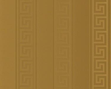 Versace Designer Barock Tapete Home Collection 935242 Jugendstil Vliestapete Vlies Tapete Gold Streifen Mäander
