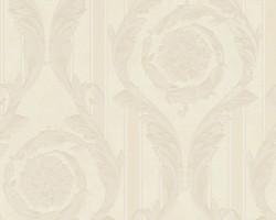 Versace Home Collection Baroque wallpaper 935682 Art Nouveau woven wallpaper non-woven wallpaper cream