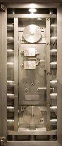 Tür 2.0 XXL Wallpaper für Türen 20013 Safe - selbstklebend- Blickfang für Ihr zu Hause - Tür Aufkleber Tapete Fototapete FotoTür 2.0 XXL Vintage Antik Stil Retro Wallpaper Fototapete – Bild 2