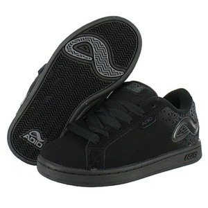 Adio Skateboard Schuhe-- Eugene Re 2 Kids-- Black/Black – Bild 1