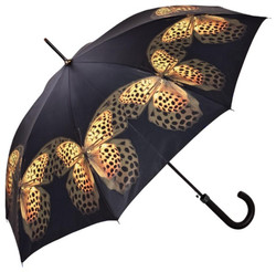 Designer umbrella umbrella design with spotted butterflies - Elegant Umbrella - Luxury Design - Automatic Umbrella