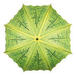 "Designer motif umbrella umbrella ""palm roof"" - Elegant Umbrella - Luxury Design - Automatic Umbrella Bild 2"
