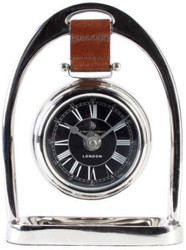 Casa Padrino designer luxury clock 49 Regent Street London 13,5 x 4,5 x H. 18,5 cm - stainless & Sumptuously