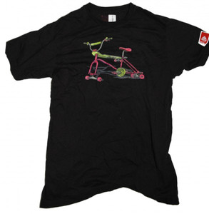 Skatebikes  Skateboard T-Shirt  Black/cycle – Bild 1
