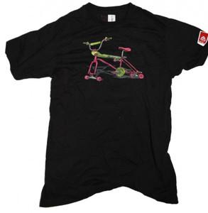 Skatebikes  Skateboard T-Shirt  Black/cycle – Bild 1