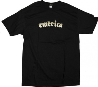 Emerica  Skateboard T-Shirt  Black – Bild 1
