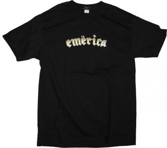 Emerica  Skateboard T-Shirt  Black – Bild 1