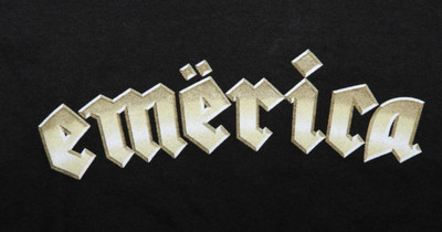 Emerica  Skateboard T-Shirt  Black – Bild 2