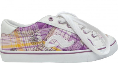 Adio Skate Shoes    Keds Girls White/Purple/Caro – Bild 1
