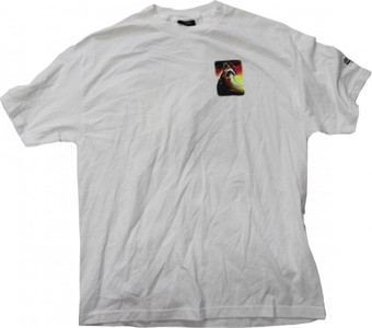 NHS    Skateboard T-Shirt  White/Wave – Bild 1