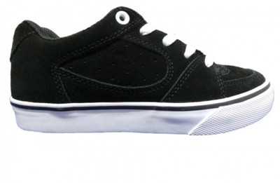 ES Skateboard Schuhe Square One Youth Black/White – Bild 2
