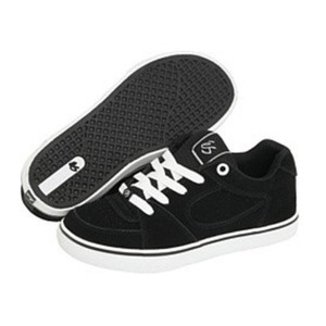 ES Skateboard Schuhe Square One Youth Black/White – Bild 1