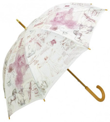"MySchirm designer umbrella ""Leonardo da Vinci"" - Elegant Umbrella - Luxury Design - Automatic Umbrell"